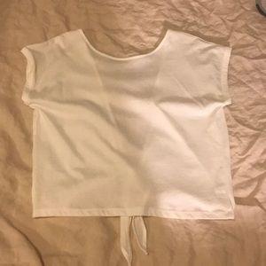 backless tshirt. NEVER WORN